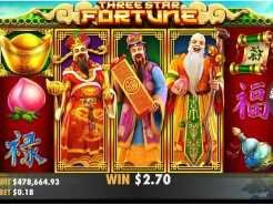 Three Star Fortune Slots