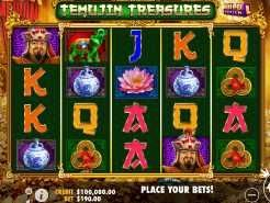 Temujin Treasures Slots
